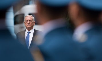 Mattis Vows Support For Ukraine, But Stops Short Of Promising Weapons