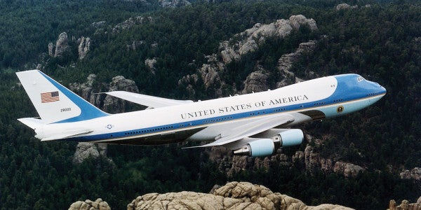 Trump Can Thank This 'Pretty Sweet Beard' For His Air Force One Upgrade