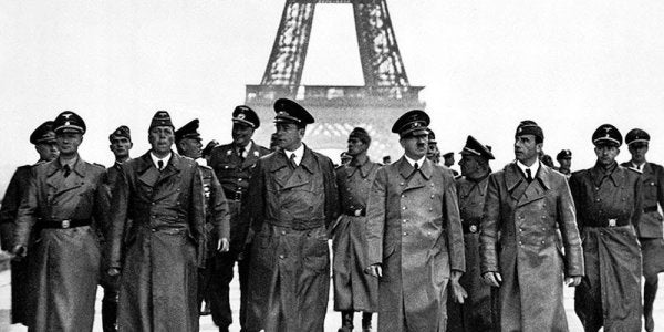 Allied Forces Kicked Hitler's Nazi Army Out Of Paris 73 Years Ago Today