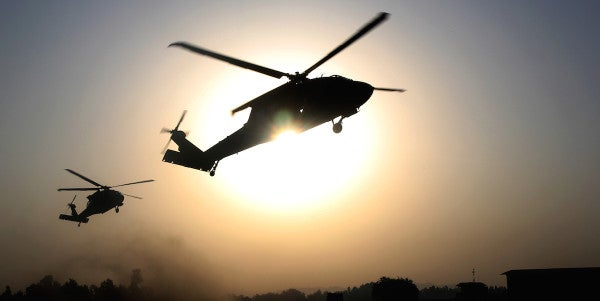 1 Service Member Missing After Black Hawk Crashes Off Coast Of Yemen