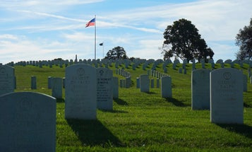 World War II Marine At Rest In Chattanooga National Cemetery After 74 Years
