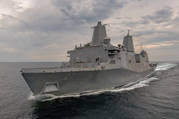 The US Navy Is Getting A New Amphibious Assault Ship