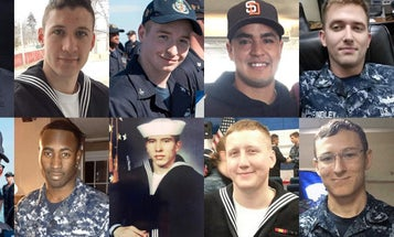Navy Recovers Bodies Of All 10 Missing USS McCain Sailors