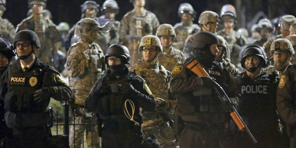 Trump To Restore Program Transferring Surplus Military Weapons And Gear To Local Police Forces