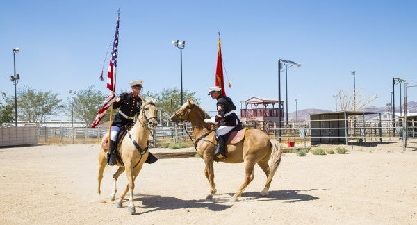 8 photos of the Marine Corps' last-standing cavalry unit