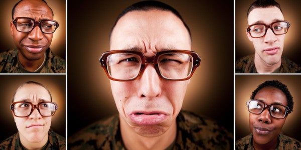 A Brief History Of The Military's Unsightly 'Birth Control Glasses'