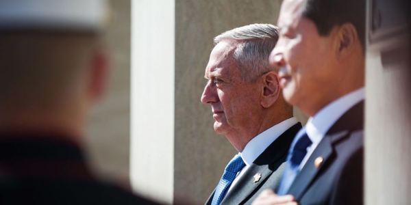 Mattis: US Still Aiming For Diplomacy With North Korea Despite Trump's Tweets
