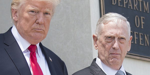 Mattis Gave A Remarkable Response When Asked Why He Continues To Serve Trump