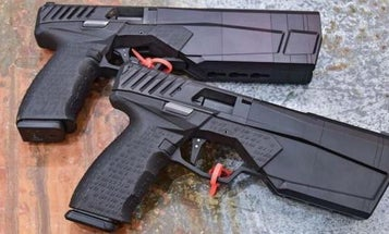 SilencerCo Shows Off Its New Pistol's Built-In Suppressor In The Slickest Way Possible