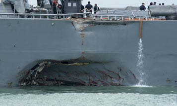 Lawmakers Grill Navy Brass Over 7th Fleet Collisions And Readiness