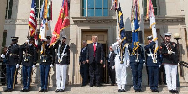 Trump Sets 2018 Military Pay Raise at 2.1%
