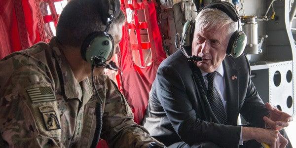 Mattis Warns Of 'Overwhelming' Military Response To North Korea
