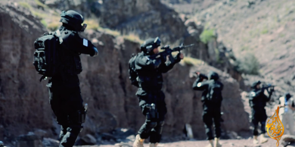 Taliban Releases Video Of Fighters Imitating US Special Operations Forces