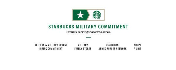 How Starbucks Served A Military Spouse While Her Husband Served The Country