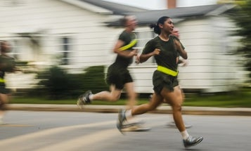 Here's How Marines Fared On The New Physical Fitness Test