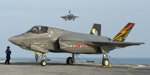 The Navy Is Deploying A Carrier Full Of F-35s Right On North Korea's Doorstep