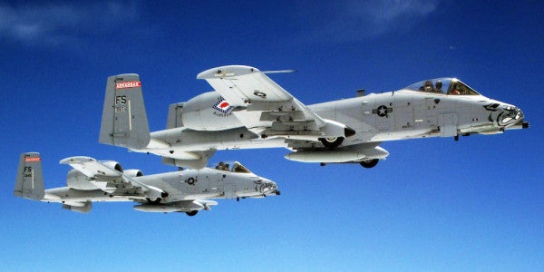 2 A-10s Crash in Nevada, Pilots Eject, Air Force Says