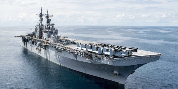 All Hands On Deck As 5 Navy Ships Prepare For Irma Response