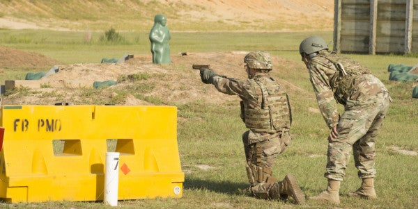 Photos: Check Out The Army's New Handgun In Action