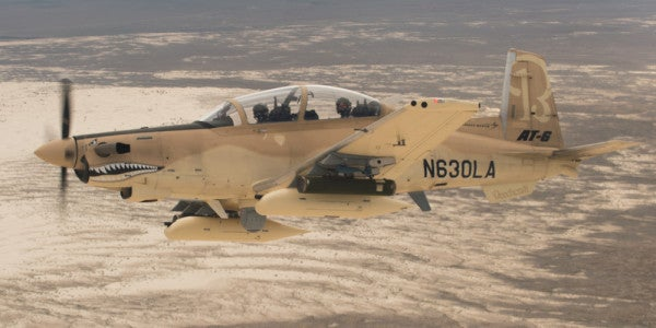 One Of These Planes Could Soon See Battle Alongside The A-10 Warthog