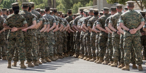 Marines Investigating Death Of Student At Camp Pendleton's School Of Infantry