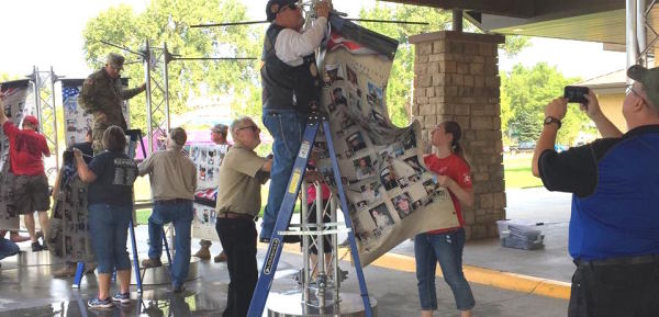 Gold Star Families Help Launch Photo Display National Tour Honoring Post-9/11 Fallen
