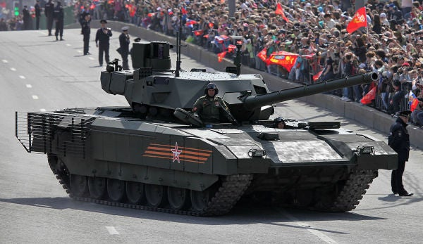 Russia Says Its Armata T-14 Tank Can Fight On Mars
