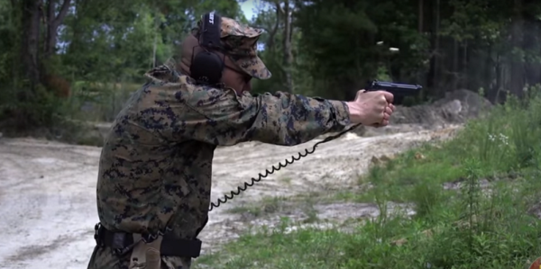 The Corps' Top Gun Guru Is Here To Prove Just How Well The M9 And Glock 19 Can Shoot