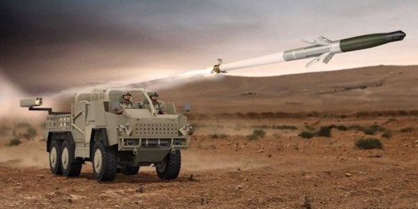 Special Forces Vehicles Could Soon Boast A Deadly New Guided-Rocket System