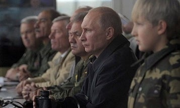 Why Are 100,000 Russian Troops Headed Straight For NATO's Borders?