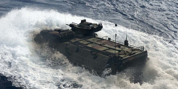 AAV Fire Injures 15 Marines In Camp Pendleton Training Exercise