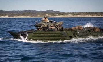 The new Marine amphibious vehicle