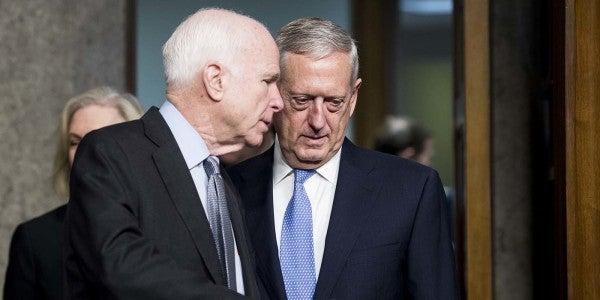 Transgender Troops Get New Hope From Mattis, McCain