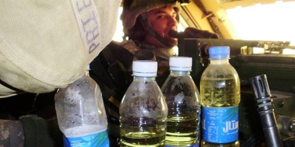 Be All You Can Pee: Urine Might One Day Power America's Wars