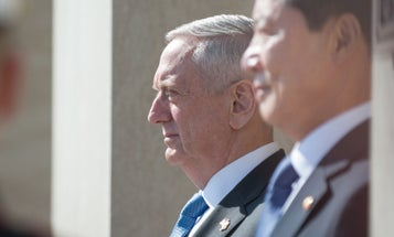 Mattis Just Hinted At Secret 'Kinetic' Military Options For North Korea