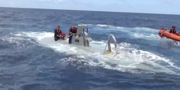 The Coast Guard Is Tackling A Stealthy New Breed Of Drug Smuggler