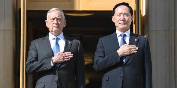 Mattis: US Must Face 'Somber Reality' Of Military Option On North Korea
