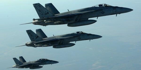 Air Force Secretary: Congress Could Worsen Anti-ISIS Coalition's Major Bomb Shortage