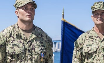 Navy Tech Awarded Silver Star For Actions In 10-hour Fight Against ISIS