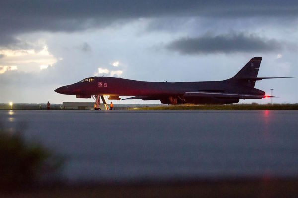 US Bombers Buzz North Korea As Tensions Between The 2 Countries Intensify