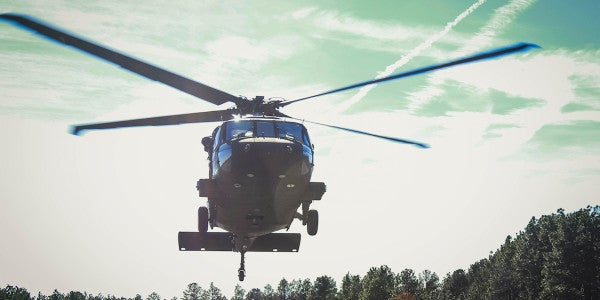 In A Historical First, Civilian Drone Collides With Army Black Hawk Helo