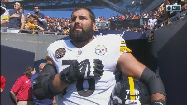 Steelers Army Vet: Everyone Got My Anthem Stance 'Absolutely Wrong'
