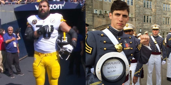 2 USMA Combat Vets. 2 Sides Of The NFL Kneeling Debate. This Is America's Strength