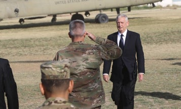 Mattis Was The Target Of A Brazen Rocket Attack On Kabul Airport, Taliban Claims