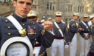 The Army Is Investigating The Pro-Communist West Point Grad In This Viral Photo