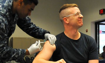 Troops could get the COVID-19 vaccine starting next week