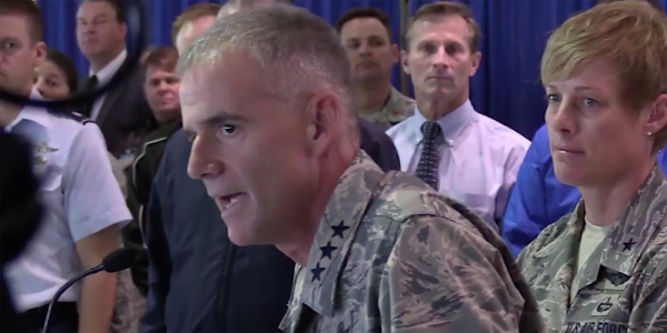 'Get Out': Air Force Academy Chief's Rousing Speech Against Bigotry Goes Viral