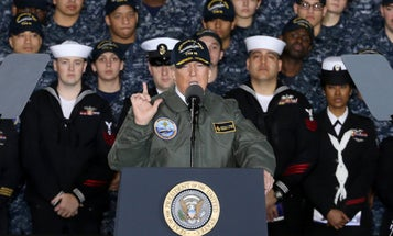 Trump Boosts Defense Budget Request For Missile Defense, Ship Repairs And Expanding Afghan War Strategy