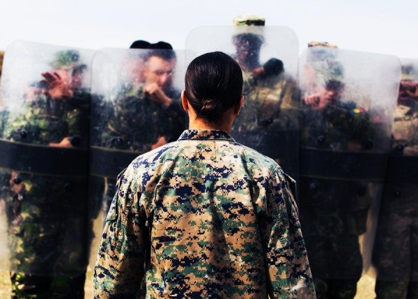 First Female Marine Officer To Graduate From Assault Amphibian School
