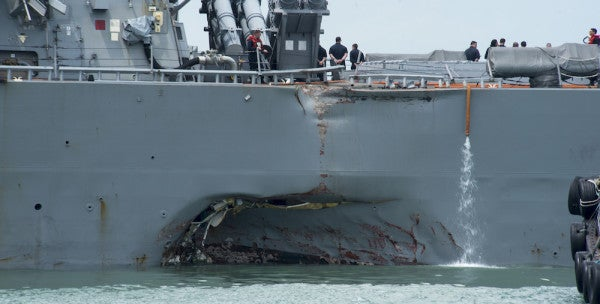 Here Are The Major Changes Coming To The Navy After A Year Of Deadly Mishaps